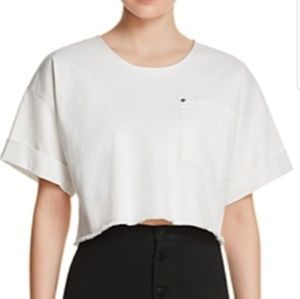 ELIZABETH AND JAMES Oversized Short-Sleeve top